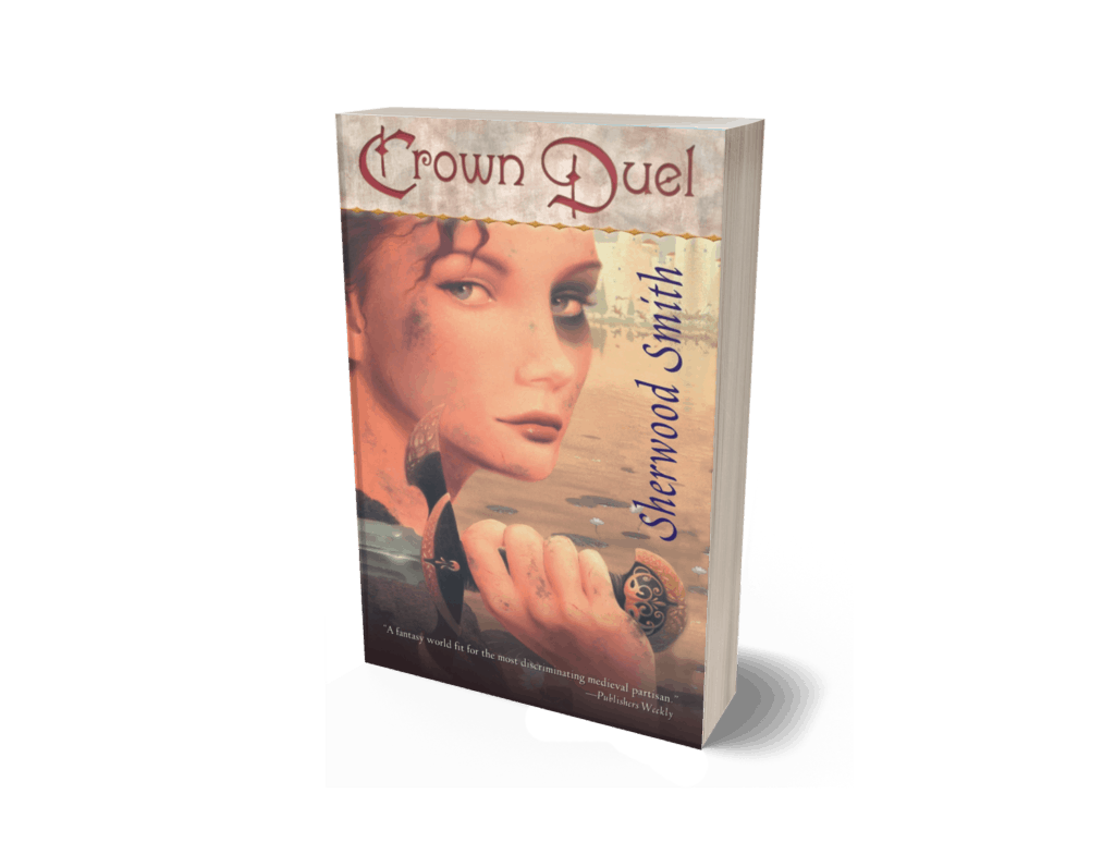 Book cover of Crown Duel by Sherwood Smith