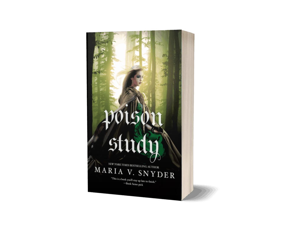 Book cover of Poison Study by Maria V Snyder