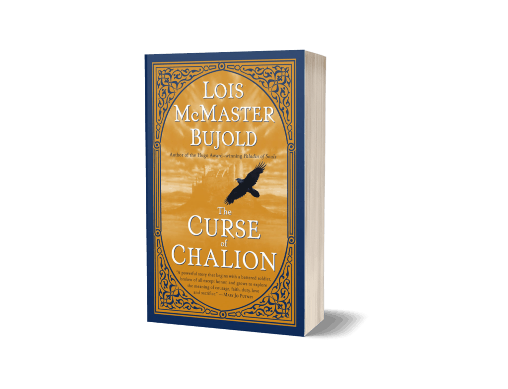 Book cover of The Curse of Chalion by Lois McMaster Bujold