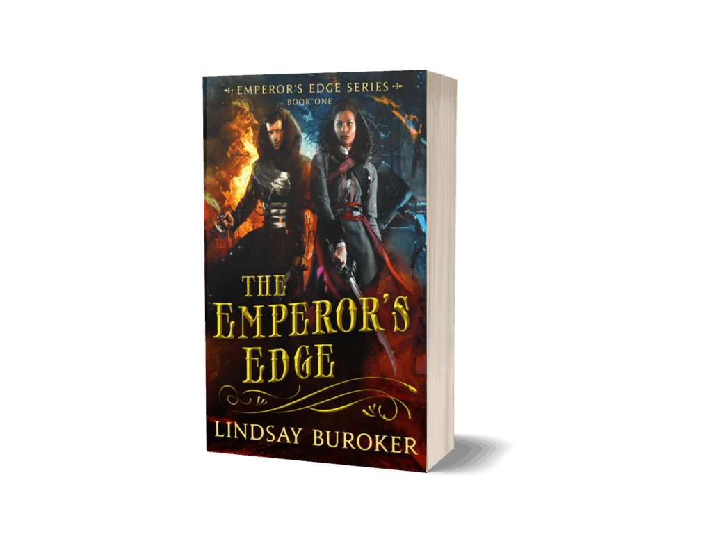 Book cover of The Emperors Edge by Lindsay Buroker