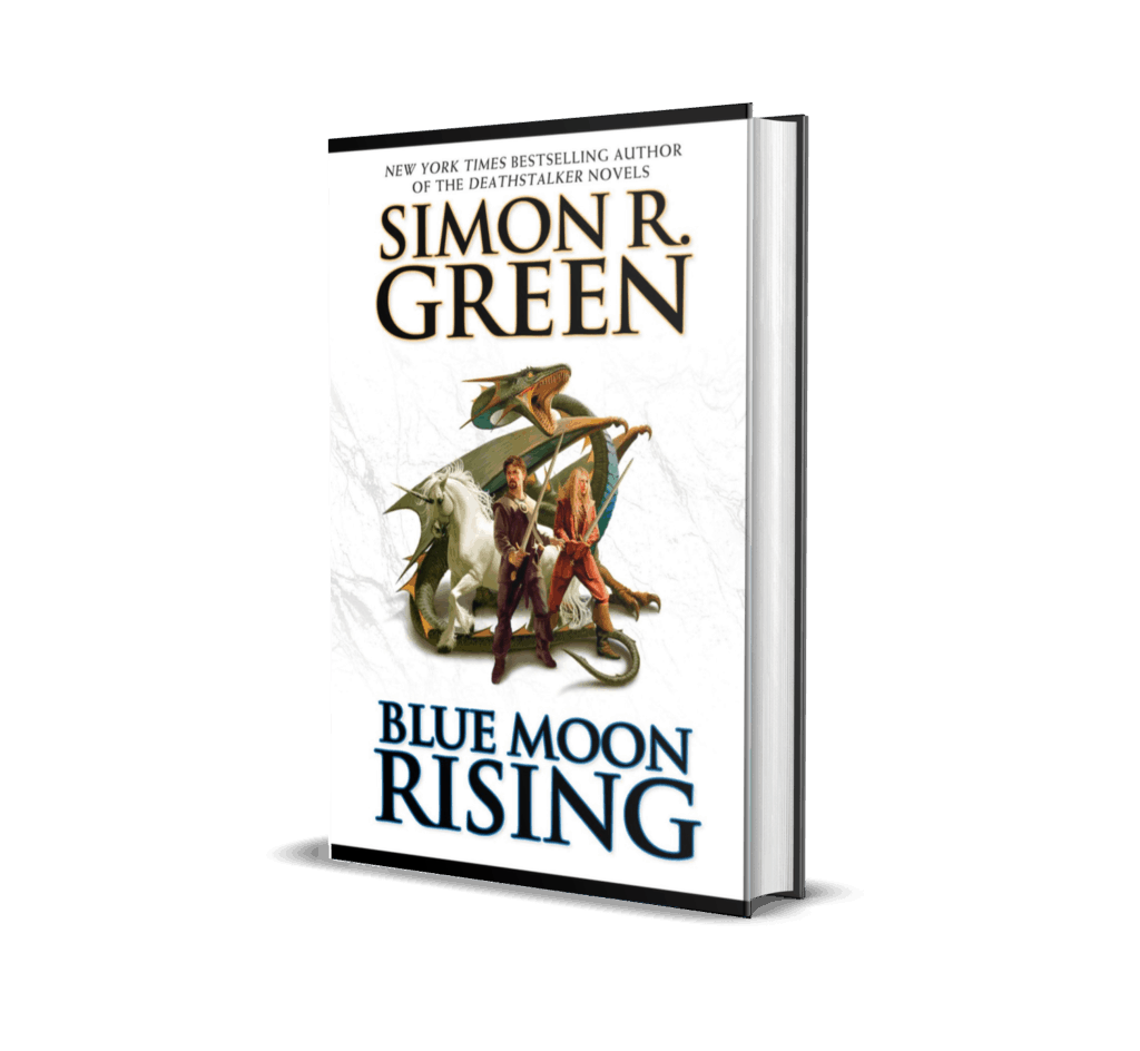 Book Cover of Blue Moon Rising