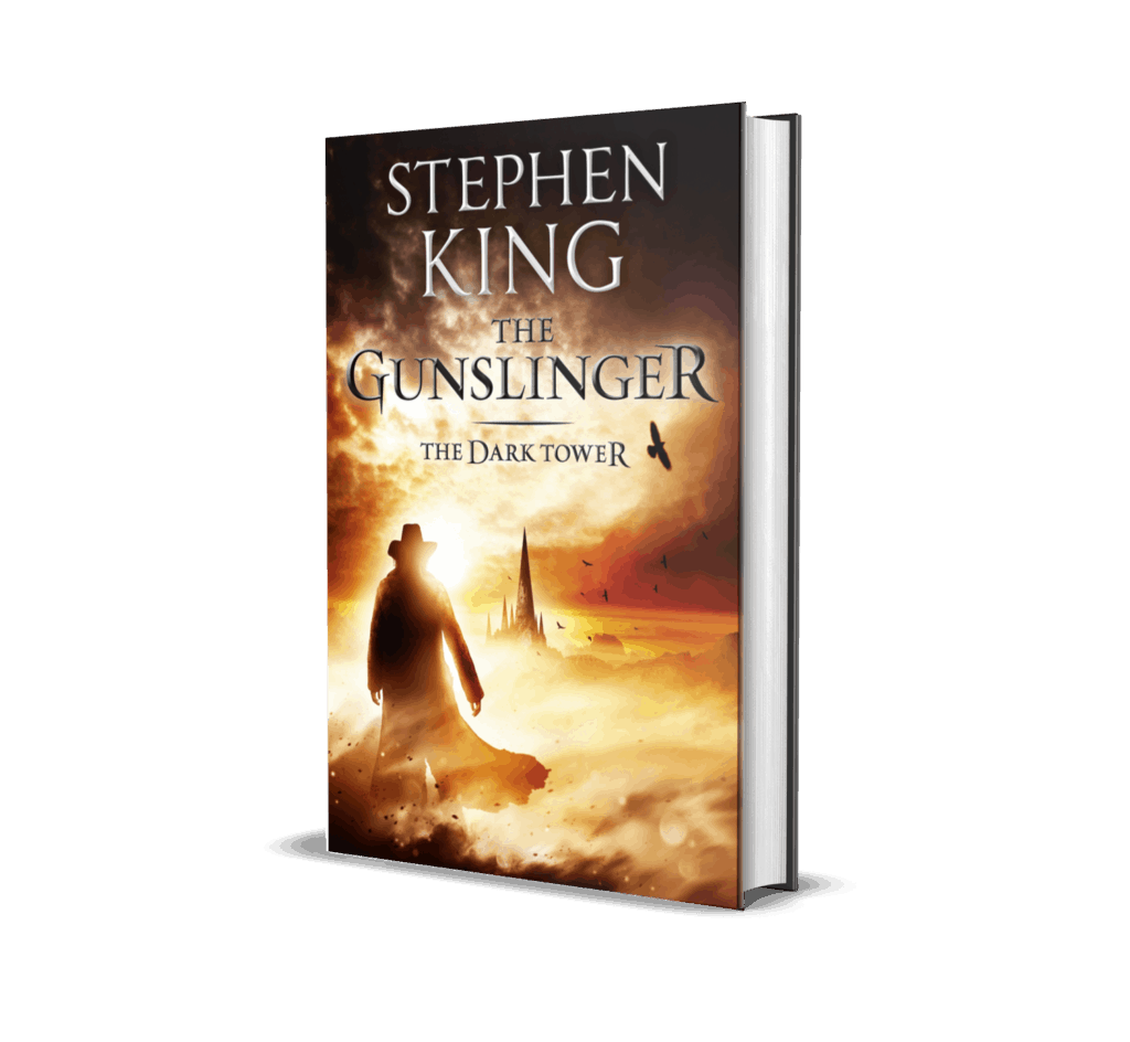 "Book cover of ""The Gunslinger"""
