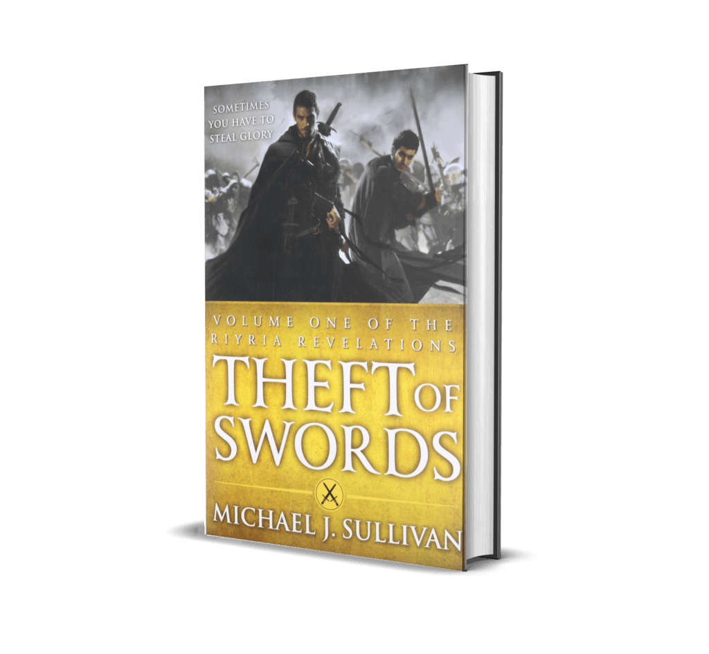 Book cover of Theft of Swords
