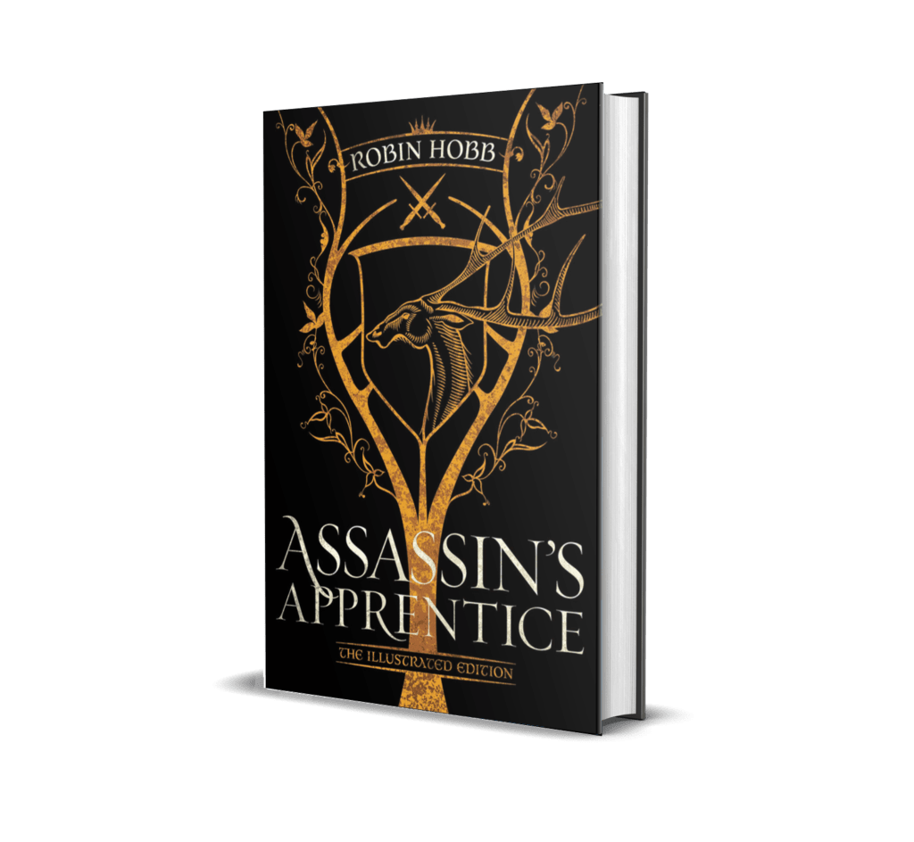 Book cover of Assassin's Apprentice