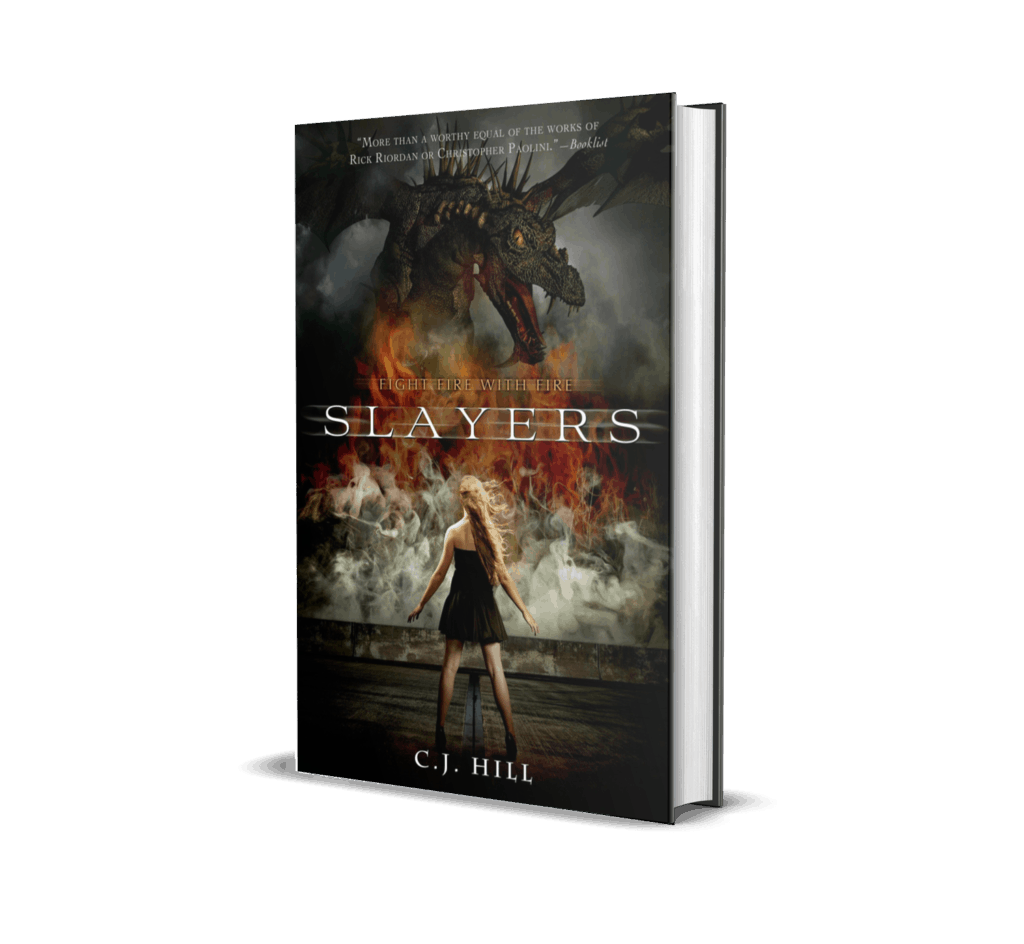 Book Cover of Slayers by C.J. Hill